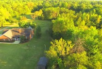Best drone aerial video showing a house for sale