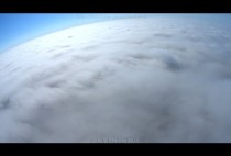Drone Flies Above Clouds!
